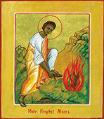 Holy Prophet Moses icon