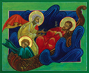 Storm on the Sea of Galilee icon