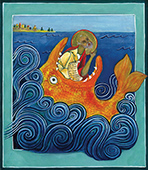 Holy Prophet Jonah icon