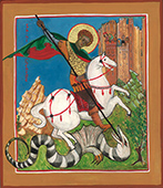 Saint George Slays the Dragon icon